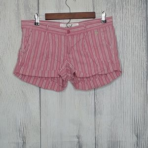 Abercrombie & Fitch linen pinstripe shorts, size 6